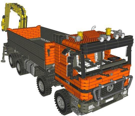 lego technic 13806